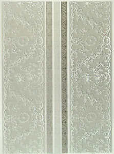 Details About Printed Translucent Vellum Scrapbook Paper A 4 Lace White