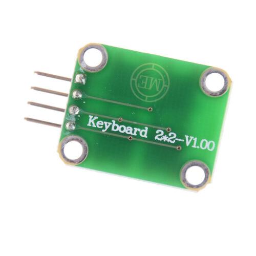 Matrix 4 Keyboard Board Module 4 Button Tactile Switch For Arduino NICA