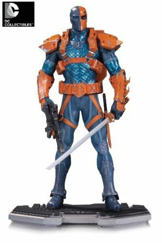 DC COLLECTIBLES COMICS ICONS DEATHSTROKE STATUE LIMITED EDITION D79