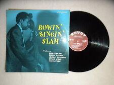 "LP SLAM STEWART ""Bowin singin slam"" SAVOY MUSIDISC SA 6032 FRANCE µ"