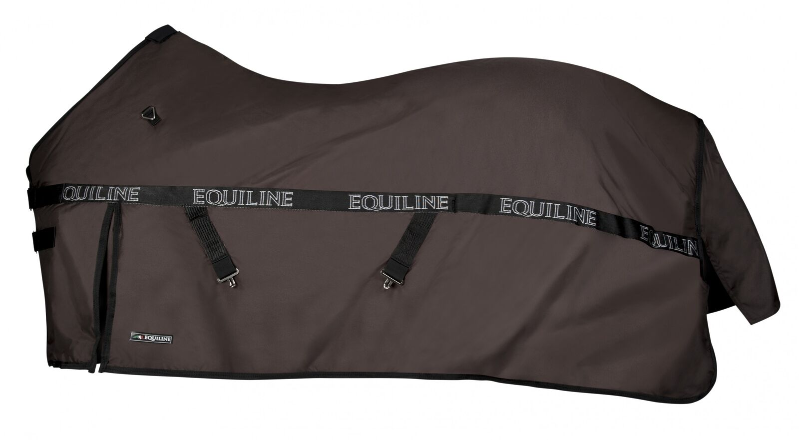 Equiline Paddockdecke Clint 200 marrón Willow couverdeure surfaix tail