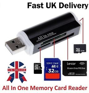 Mini Sd Kartenleser.Details About Multi Card Reader For Micro Sd Sdhc Sdxc Mini Sd Micro M2 Mmc Ms Memory Card