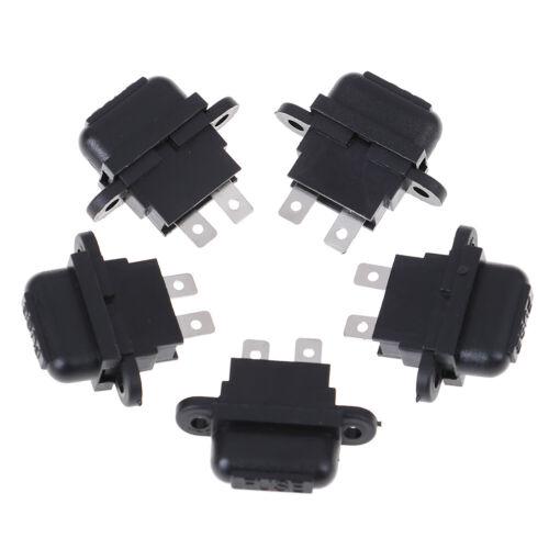 5 stücke 30A Amp Auto klinge standard sicherungshalter box für auto boot lk!E