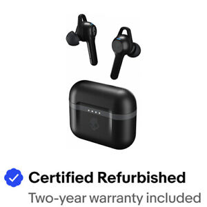 Skullcandy INDY XT EVO True Wireless Bluetooth Earbuds- Refurb- BLACK