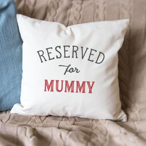 Nouveau-réservés pour maman-Qualité Housse de Coussin-Cadeau Noël Anniversaire