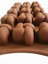 Pralinenform Backform Eiswürfelform 100% Silikon Schokoladenform Seifenform NEU