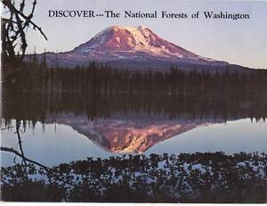 Vintage Lot Brochures Maps Washington Colorado Oregon Yellowstone Knotts