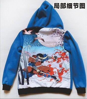 Kamen Rider Gaim Kota Kazuraba Jacket Hoodie Cosplay Costume Top Size M - XXXL