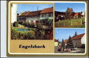 ENGELSBACH-Kr-Gotha-DDR-ua-Dorfstrasse-Hauptstrasse