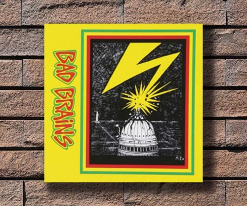 Y142 Bad Brains Music Rapper Album Cover Hot Fabric Poster 16x16 24x24