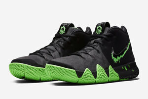brand new bf180 c3182 Details about Nike MEN'S Kyrie 4 Black/Rage Green HALLOWEEN SIZE 15 BRAND  NEW Slime