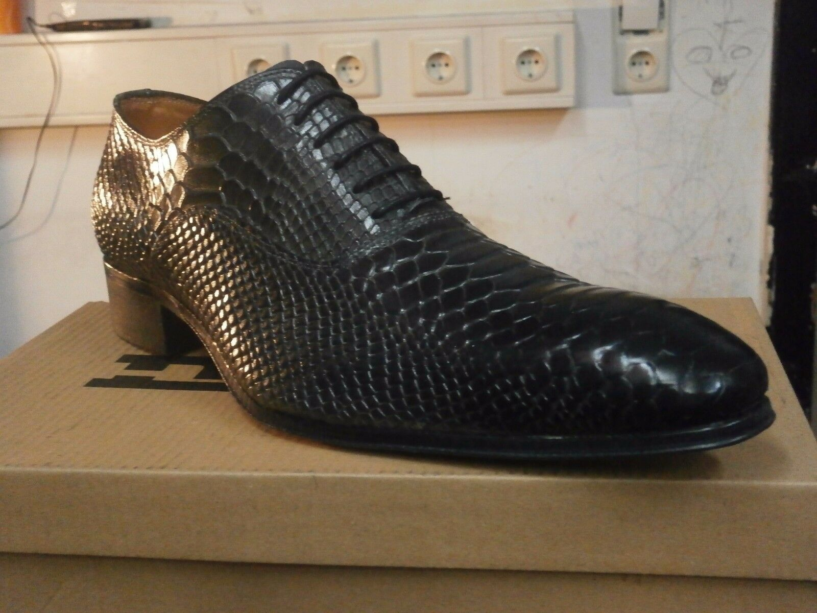 Scarpe da Uomo/italian shoes, Mario alborino Solid/Elegante Scarpe in pelle. Scarpe classiche da uomo