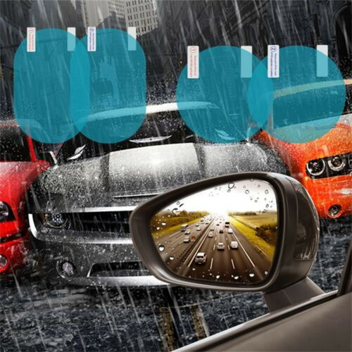 2PC Car Mirror Films Waterproof Side Window Membrane Glass Protective Sticker RL