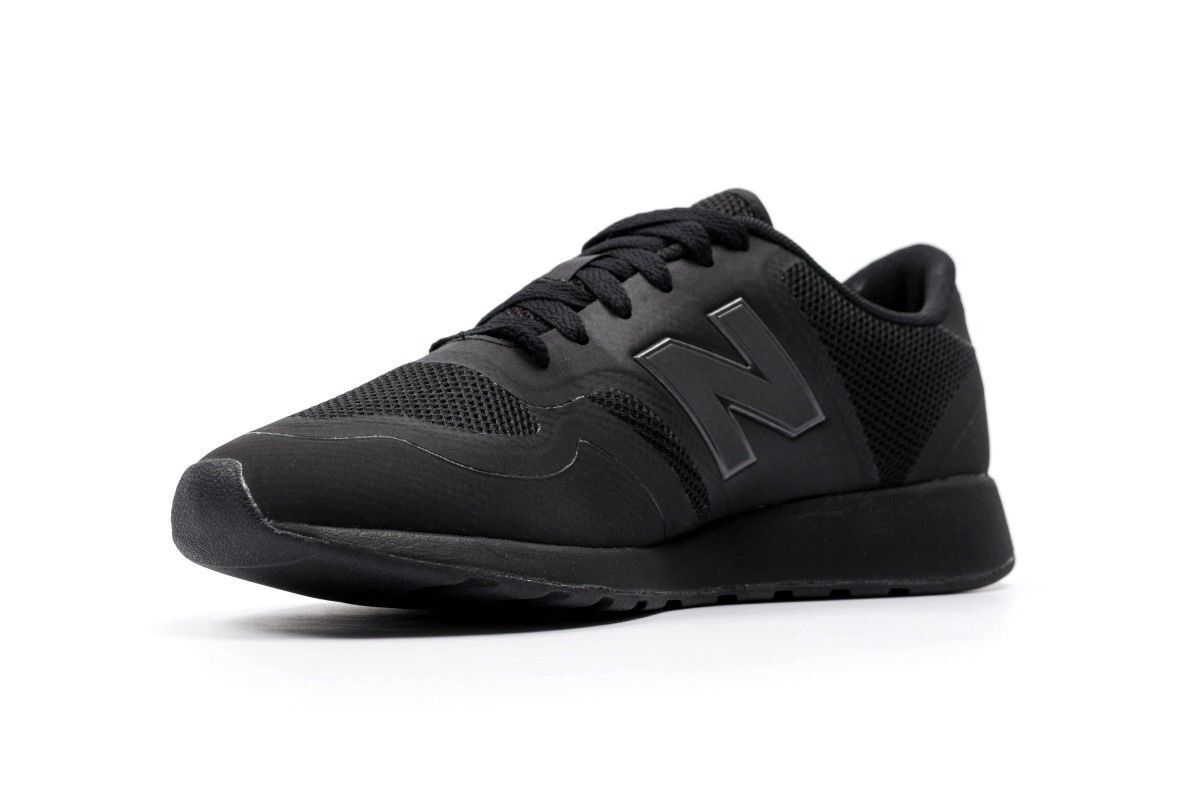 Men Athletic Sneakers New Balance Running shoes Microfiber Mesh Upper Black 0TB