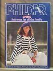"Phildar Mailles Magazine Knitting & Crochet Patterns ""Spring"" Vintage 1979  #72"