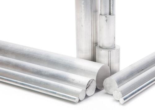 """1-3//8/"""" Diameter 6061 Aluminum Round Rod 24/"""" Length T6511 Extruded 1.375 inch Dia"""