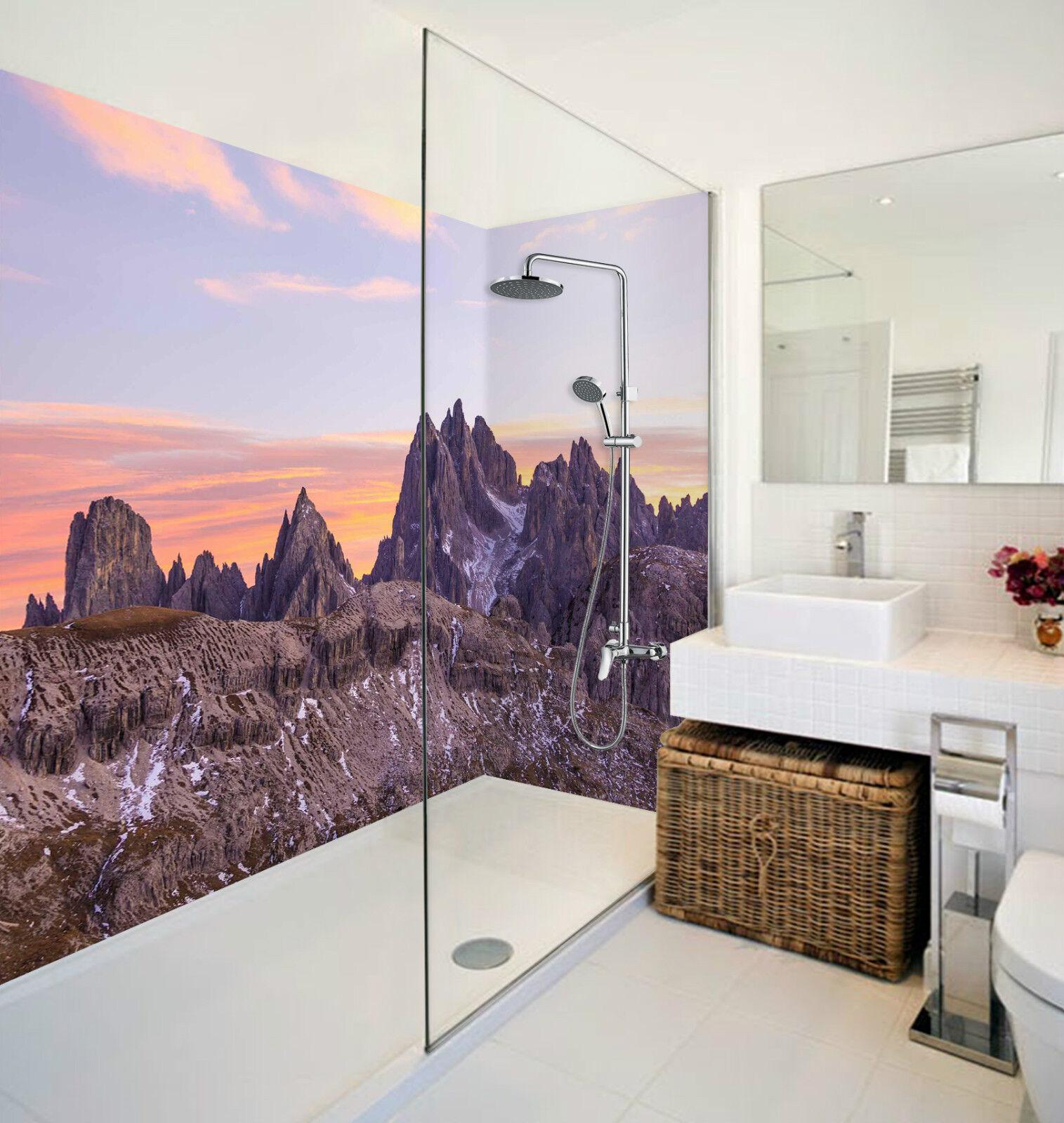 3D Bare Mountains 147 WallPaper Bathroom Print Decal Wall Deco AJ WALLPAPER CA