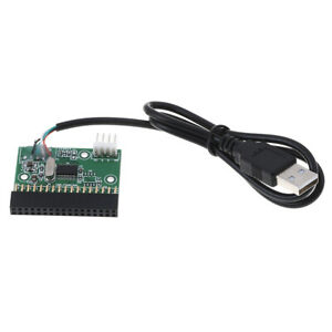 1-44MB-3-5-034-floppy-drive-connector-34-PIN-34P-to-USB-cable-adapter-PCB-boardS-YA