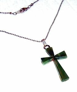EXQUISITE-JADE-CROSS-PENDANT-1-1-4-034-WITH-18-INCH-CHAIN