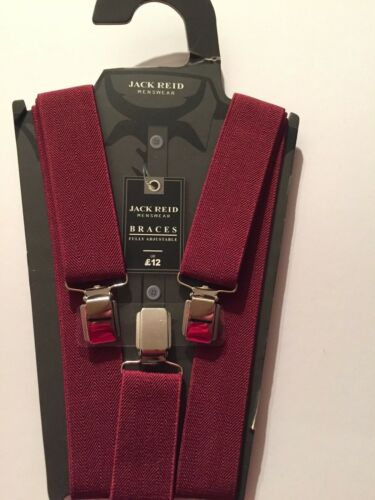 Jack Reid Menswear Braces Fully Adjustable  RRP £12