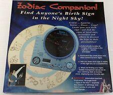 *NEW* ZODIAC COMPANION  ASTROLOGY NIGHT SKY LOCATOR BIRTH SIGN DESK CLOCK