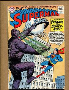 Superman #138 - King Kong - 1960 (Grade 3.5) WH