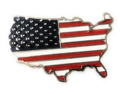USA Metal Decals Car Sticker 3D  Emblem US MAP USA National Flag for decor 3M 1P