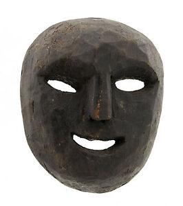 Maschera Nepal De L'Himalaya Sciamano-Viso Humain Tribale 3426 W3