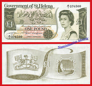 SANTA-SAINT-HELENA-1-Pound-libra-1981-Pick-9-SC-UNC