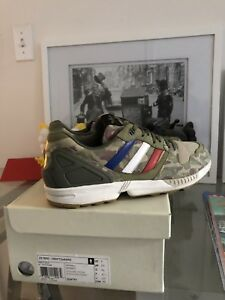 promo code 8dc13 f38eb Details about ADIDAS ZX 5000 UNDFTD x BAPE UNDEFEATED BATHING APE GREEN  CAMO SIZE 9