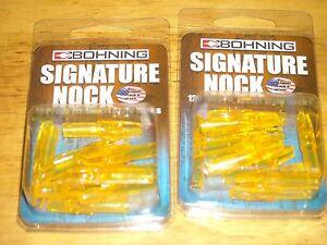 Bohning F Nock Chartreuse 12pk 10141LM