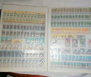 Gros-album-60-pages-a-bandes-fond-blanc-30-pages-stock-Algerie-Maroc-Tunisie