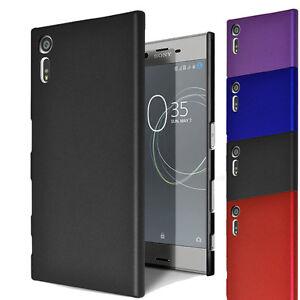Pour-Sony-Xperia-XZ-Hybrid-Hard-CASE-SLIM-FINE-COQUE-HOUSSE-amp-protecteur-d-039-ecran
