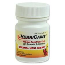 HURRICAINE TOPICAL ORAL ANESTHETIC GEL 1oz WILD CHERRY HURRICANE
