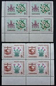 Briefmarke-Briefmarke-Kanada-Yvert-Und-Tellier-N-347-x4-Und-348-x4-N-cyn7
