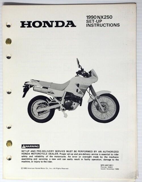 1990 Nx250 Set  Wiring Diagram