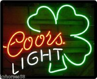 Coors Light Neon Beer Sign Refrigerator Magnet This Is Not A Actual Sign