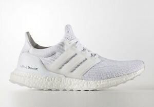 b66731e05293d Adidas Ultra Boost All White Triple White 3.0 Mens BA8841 Size  7-13 ...