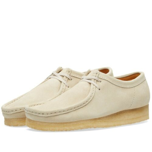 Clarks Suede Off 6 Uk Mujeres 7 Unisex 5 Wallabee D 4 Originals White Aw4xrqYnAI