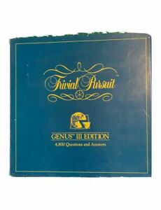 Trivial-Pursuit-Genus-III-Edition-Board-Game-Family-Fun-100-Complete-Very-Good