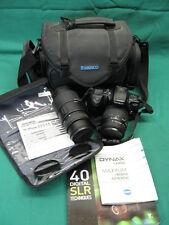 Minolta Maxxum 400Si + Sigma 70-300mm Zoom + 28-80mm Macro Lenses