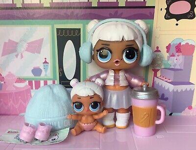 Lol Surprise Doll Series 2 Snow Angel Doll Sze Code Lil Snow Angel Set Ebay