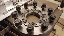 STEEL 22.5 24.5 SEMI WHEEL 8 TO 10 LUG ADAPTERS 05+ FORD F-350 DUALLY
