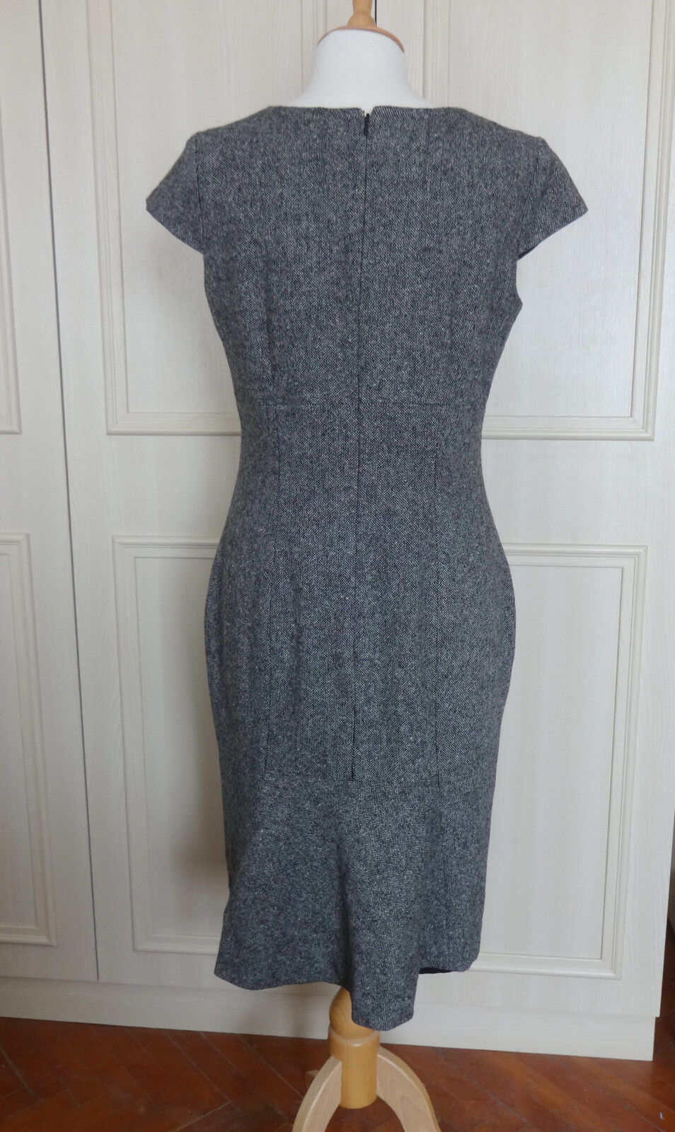 Hobbs Fitted Fine Tweed Dress Dress Dress - 12 - Worn Once 836556