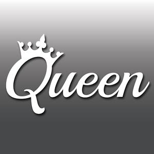 Queen-Funny-Laptop-Car-Van-Bike-Window-Bumper-JDM-Euro-Dub-Vinyl-Decal-Sticker