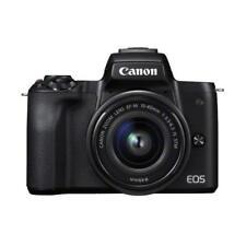 "Canon EOS M50 15-45mm 24.1mp 3"" DSLR Camera New Cod Agsbeagle"