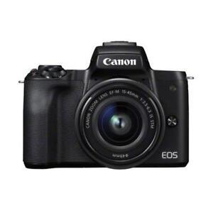 Canon-EOS-M50-15-45mm-24-1mp-3-034-DSLR-Camera-New-Cod-Agsbeagle