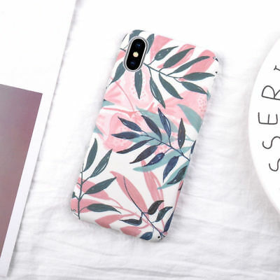 Cool Printed Frosted Hard Slim Shockproof Phone Case for iPhone 7 6 6s 8 Plus