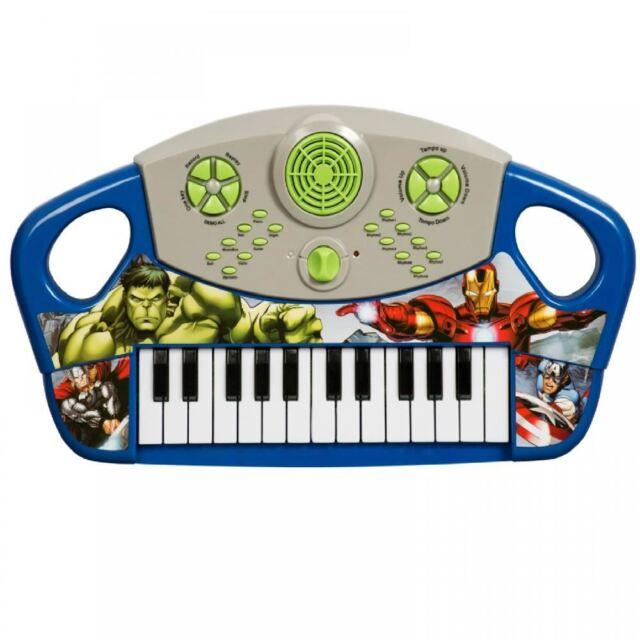 Avengers tastiera pianola giocoscuolaregalo