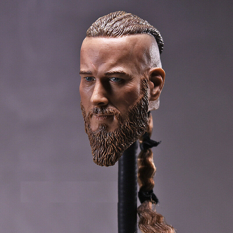 1 6 Viking Captain Head Sculpt For For For For 12  Headplay Hot Toys Male Figure ❶USA❶ 5d0021